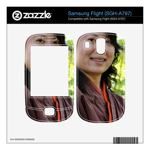 Japanese Woman Decals For Samsung Flight