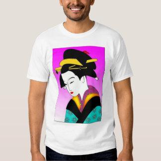 Japanese Woman tshirt