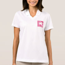 Japanese woman with umbrella and bonzai tree polo shirt