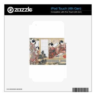Japanese Women iPod Touch 4G Skin