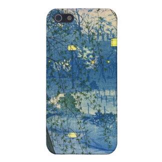 Japanese Wood Block Spring iPhone SE/5/5s Case