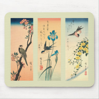 Japanese Woodblock print Mouse Pad