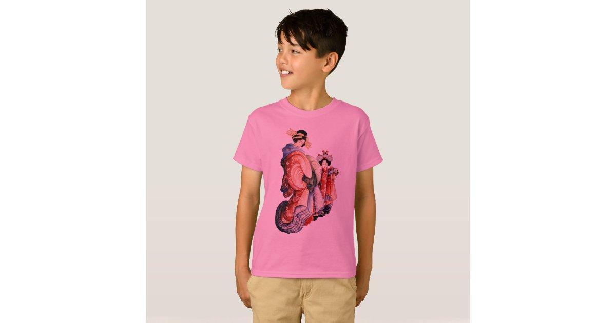 Japanese woodblock print t shirt zazzle for Vista print tee shirt
