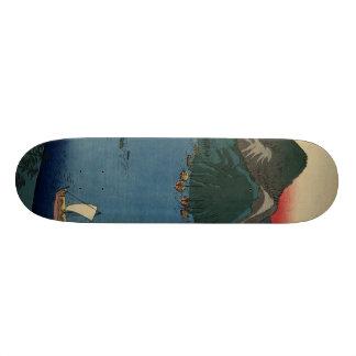 Japanese Woodcut #1 Skateboard Deck