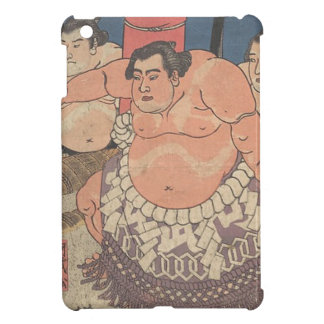 Japanese Woodprint 5 Cover For The iPad Mini