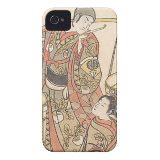 Japanese Woodprint iPhone 4 Case-Mate Case