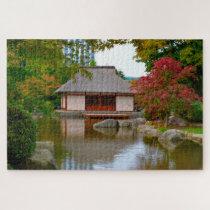 Japanese Zen Garden  Hamburg Germany. Jigsaw Puzzle