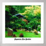 Japanese Zen Garden Posters