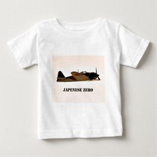 Japanese Zero World War 2 Aircraft Baby T-Shirt