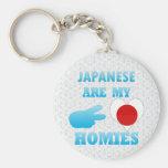 Japaneses es mi Homies Llaveros Personalizados