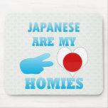 Japaneses es mi Homies Tapetes De Ratones