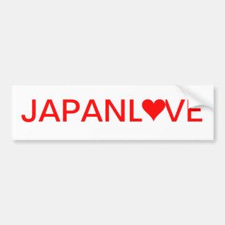JAPANLOVE BUMPER STICKER