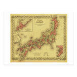 JapanPanoramic MapJapan Post Card