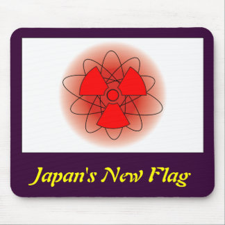 Japan's New Flag Mouse Pad