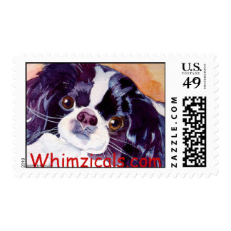 Japanses Chin Postage Stamp