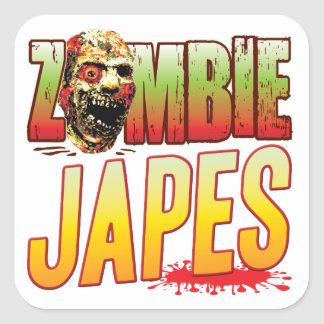 Japes Zombie Head Stickers