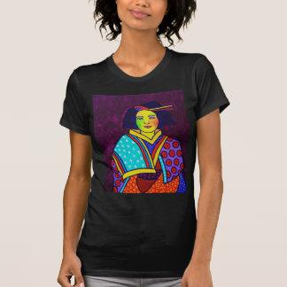 Japnese Woman Tee Shirt