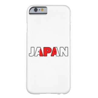 Japón 003 funda barely there iPhone 6