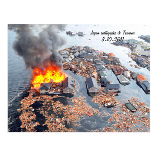 Japón 3-11-2011 Earthquake_ Postales