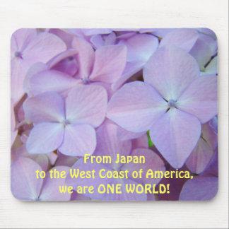 Japón a la costa oeste América somos UN MUNDO Tapete De Raton