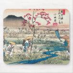 Japón antiguo tapetes de raton