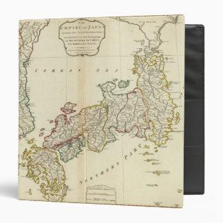 """Japón, Corea Carpeta 1 1/2"""""""