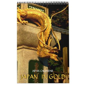 Japón en oro calendarios