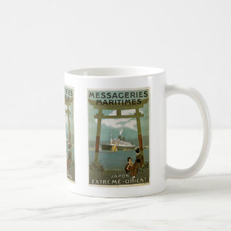 """""""Japon Extreme-Orient"""" Messegeries Maritimes Coffee Mugs"""