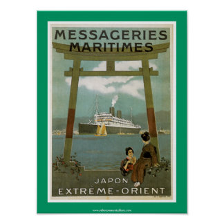 Japon Extremo-Oriente Messegeries Maritimes Impresiones