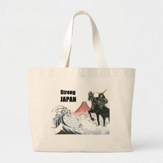 JAPÓN fuerte Bolsa Tela Grande