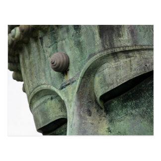 Japón, Kamakura. El gran Buda de Kamakura, a Tarjeta Postal