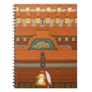 Japón, Kyoto, Fushimi, capilla magnífica de Inari Spiral Notebooks