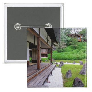Japón, Kyoto. Jardín de piedra en silencio Pin