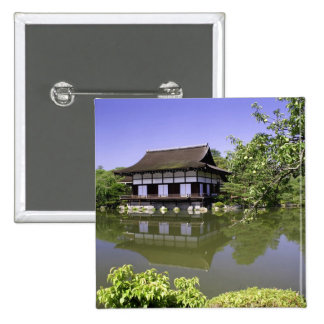 Japón, Kyoto, jardín japonés de la capilla de Heia Pins