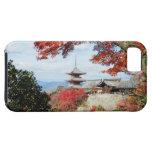 Japón, Kyoto. Templo de Kiyomizu en color del otoñ iPhone 5 Case-Mate Carcasas