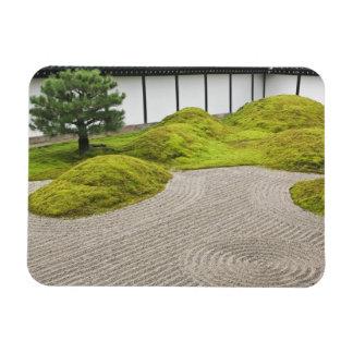 Japón, Kyoto, templo de Tofukuji, jardín del paisa Imanes Rectangulares