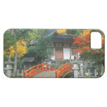 Japón, Nara, templo de Ryuzenji iPhone 5 Fundas