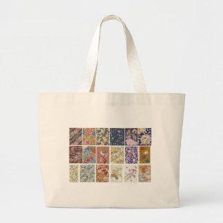 Japón, Sakura, kimono, Origami, Chiyogami, flor, Bolsa De Tela Grande