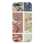 Japón, Sakura, kimono, Origami, Chiyogami, flor, iPhone 5 Cárcasa
