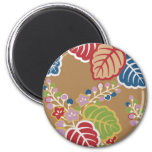 Japón, Sakura, kimono, Origami, Chiyogami, flor, Iman De Nevera