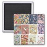 Japón, Sakura, kimono, Origami, Chiyogami, flor, Imán Para Frigorifico