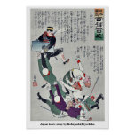 Japón se lleva por Kobayashi, Kiyochika Posters