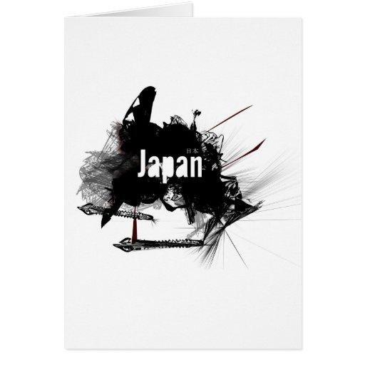Japón Tarjeta