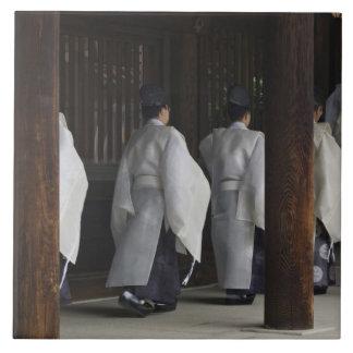 Japón, Tokio, festival del otoño de la capilla de  Azulejo Cuadrado Grande