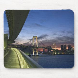 Japón. Tokio. Puente del arco iris en la bahía de  Tapetes De Raton