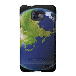Japón visto de espacio galaxy s2 carcasas