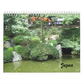 Japón Calendario De Pared