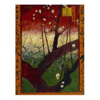 Japonaiserie de Van Gogh después de Hiroshige Tarjeta Postal
