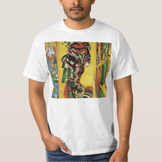 Japonaiserie Oiran after Kesa Eisen by van Gogh T-Shirt