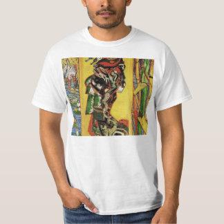 Japonaiserie Oiran after Kesa Eisen by van Gogh T Shirts